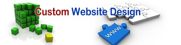 Custom Website Design, Website via your own needs