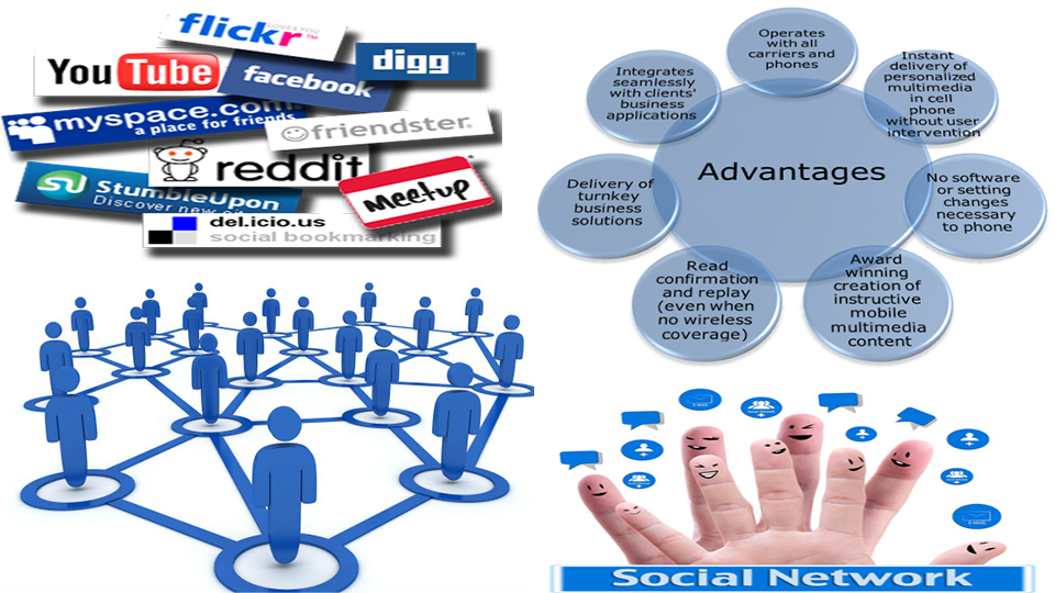 Advantages od social networking