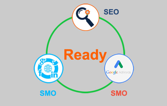 Ecomerce Website with SEO, SMO and Adword Ready
