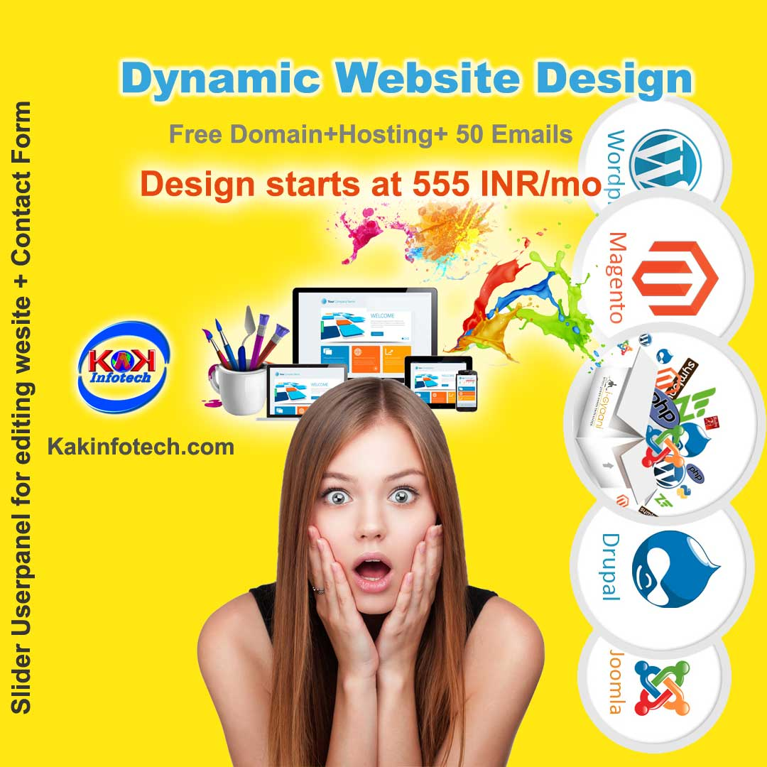 Website Design Company in India at just 5999 INR
