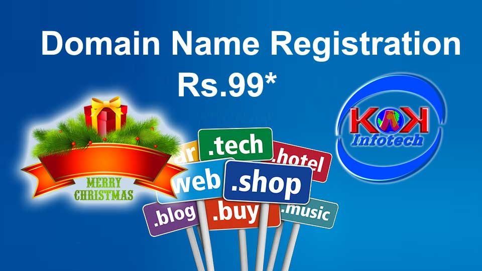 Domain Name Registration Season Sale